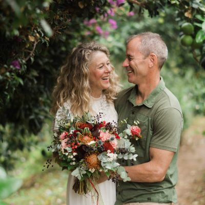 intimate elopement in Crete