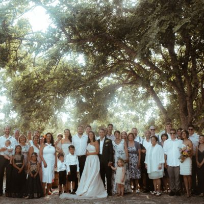 villa wedding ceremony in Crete