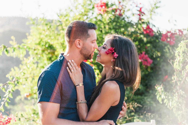 surprise proposal in Cretan gardens