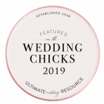 featured on wedding blog wedding chicks