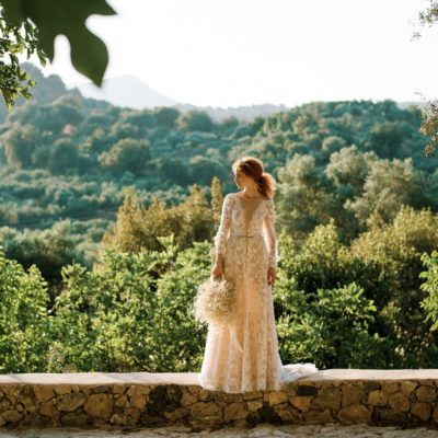 Olive wedding venue in Crete
